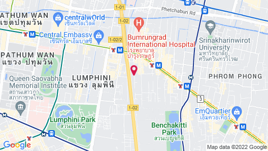 Hotel Icon Bangkok Sukhumvit Map