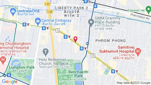 Ruamchitt Plaza Hotel Map