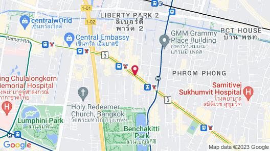Sofitel Bangkok Sukhumvit Map