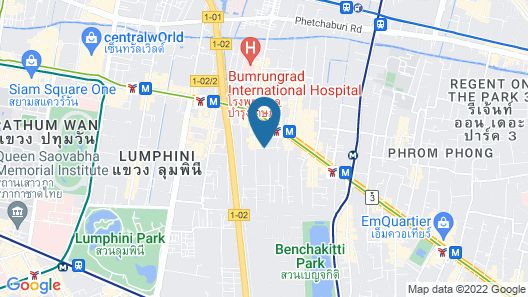Phachara Suites Sukhumvit Map