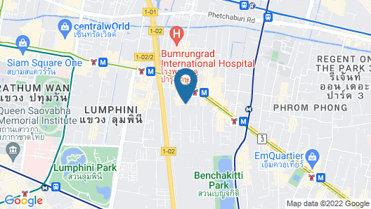 Citrus Suites Sukhumvit 6 by Compass Hospitality Map