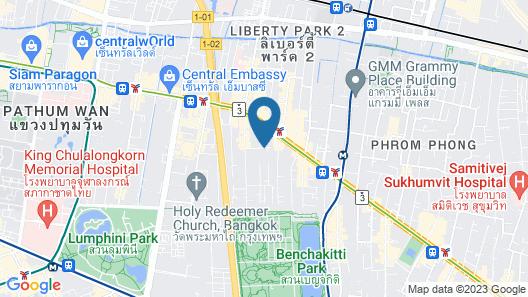 Grand Sukhumvit hotel Bangkok Map