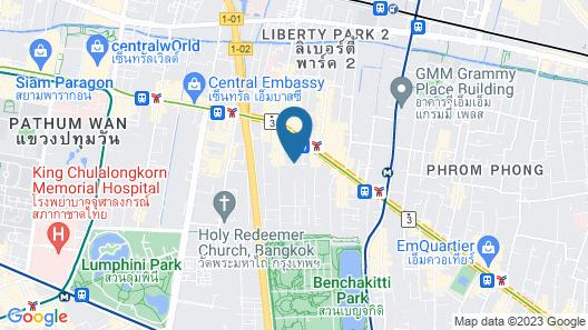 Dynasty Grande Hotel Map