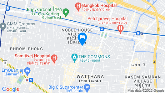 The Residence on Thonglor by UHG Map