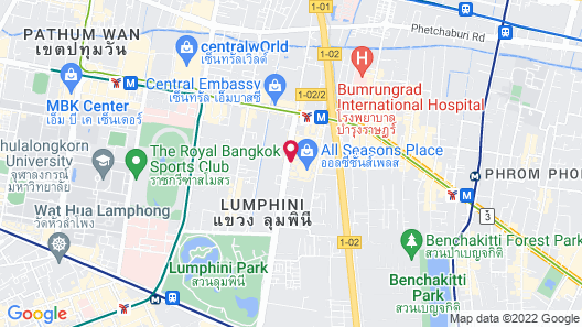 Hotel Indigo Bangkok Wireless Road, an IHG Hotel Map