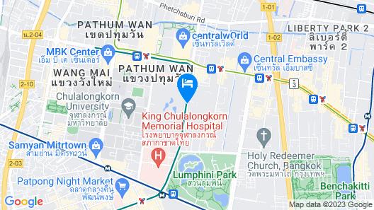 The St. Regis Bangkok Map