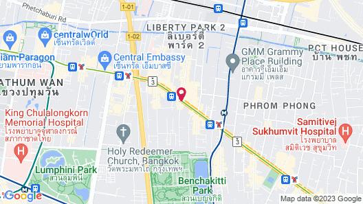 On8 Sukhumvit Nana Bangkok by Compass Hospitality Map