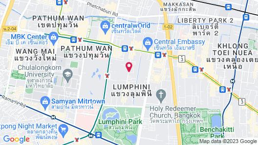 Hotel Muse Bangkok Langsuan - MGallery Map