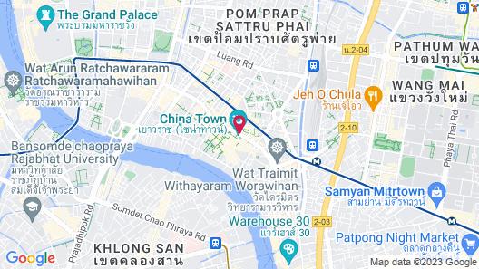 Hotel Royal Bangkok @ Chinatown Map
