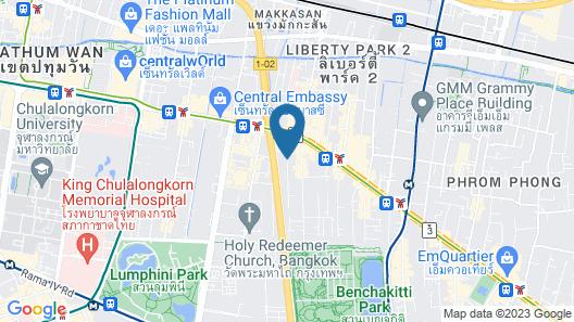 DoubleTree by Hilton Bangkok Ploenchit Map