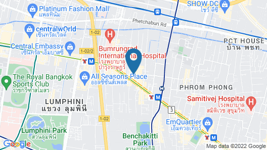 Citin Sukhumvit 11 Nana Bangkok by Compass Hospitality Map