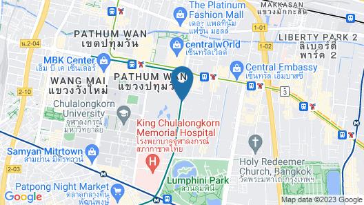 Anantara Siam Bangkok Map