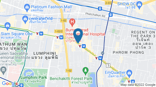 The Landmark Bangkok Map
