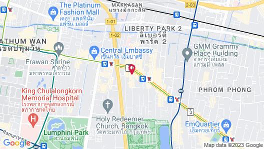 Nana Hotel Map