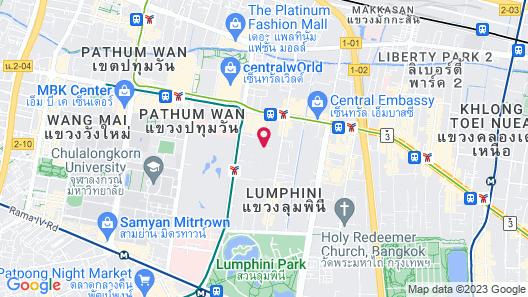 Courtyard by Marriott Bangkok Map