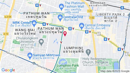 Grande Centre Point Hotel Ratchadamri Map
