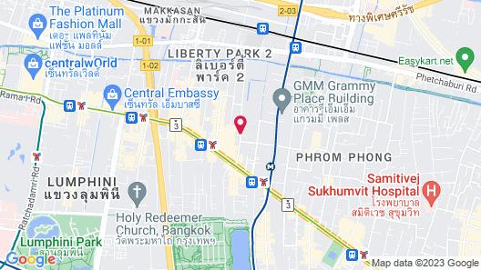 Royal President Bangkok Map