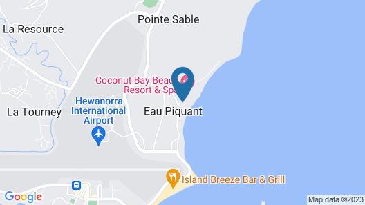 Coconut Bay Beach Resort & Spa All Inclusive Map