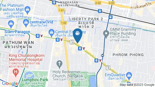 Boulevard Hotel Bangkok Sukhumvit Map
