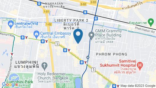 Mövenpick Hotel Sukhumvit 15 Bangkok Map