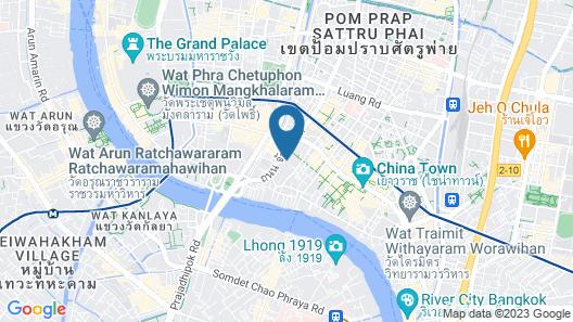 Ama Hostel Bangkok Map