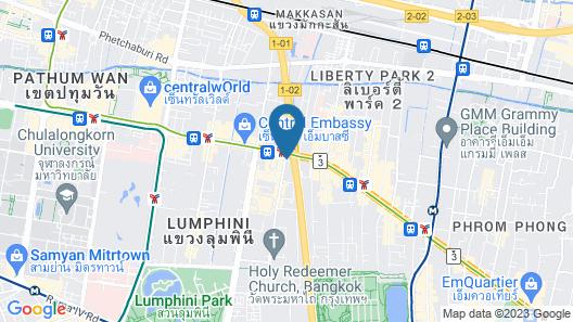 The Quarter Ploenchit by UHG Map