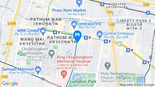 Waldorf Astoria Bangkok Map