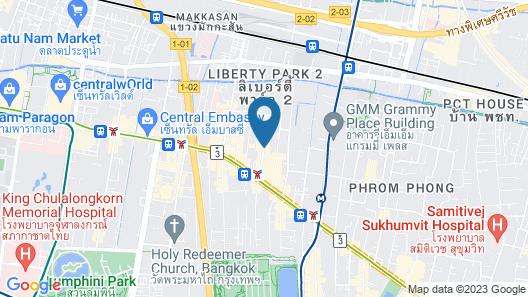 Grand President Bangkok Map