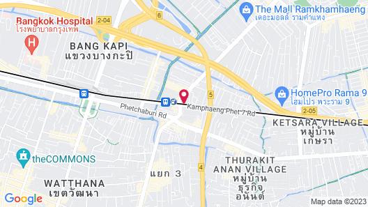 Nasa Bangkok Map