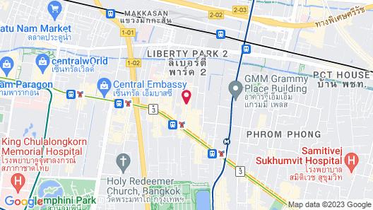 Mercure Bangkok Sukhumvit 11 Map