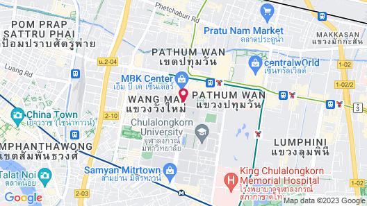 Pathumwan Princess Hotel Map