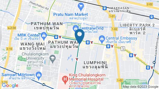 Grand Hyatt Erawan Bangkok Map