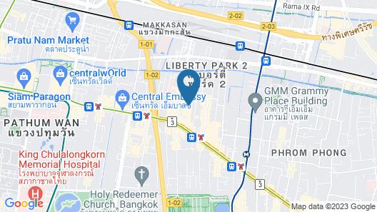 BelAire Bangkok Sukhumvit Map