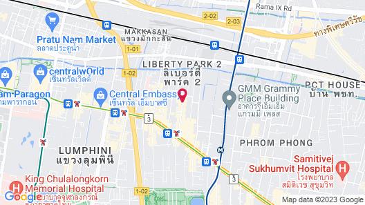 Aloft Bangkok Sukhumvit 11 Map