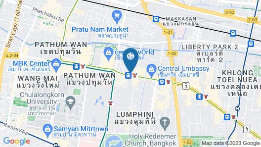 Golden House Bangkok Map