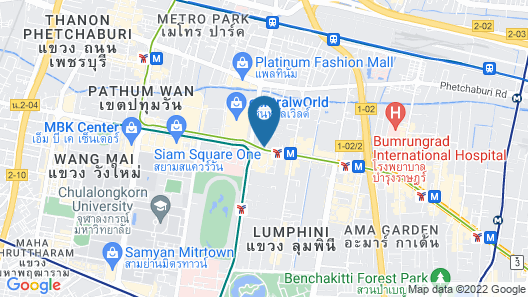 InterContinental Bangkok, an IHG Hotel Map
