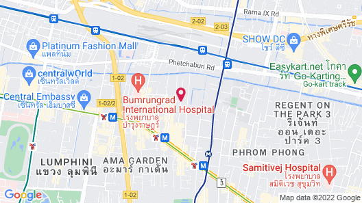 CITICHIC Sukhumvit 13 Bangkok by Compass Hospitality Map