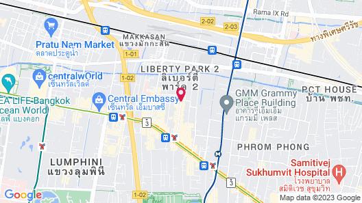 Holiday Inn Express Bangkok Sukhumvit 11, an IHG Hotel Map