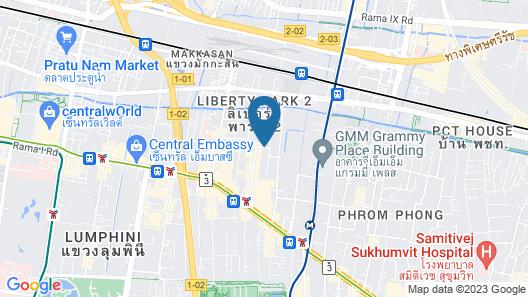Travelodge Sukhumvit 11 Map