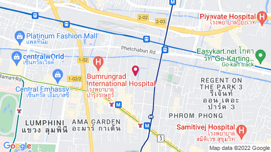 Maitria Mode Sukhumvit 15 Bangkok - A Chatrium Collection Map