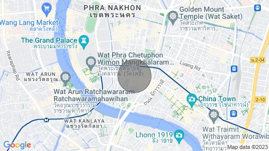 Private Penthouse-Bangkok Old Town- Khaosan Bangkok Map