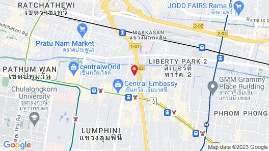 Arcadia Suites Ploenchit Sukhumvit by Compass Hospitality Map
