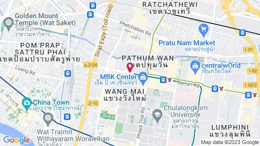 Holiday Inn Express Bangkok Siam, an IHG Hotel Map