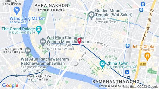 Miramar Hotel Bangkok Map