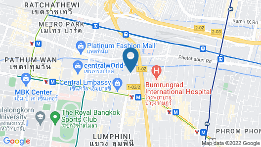 Movenpick BDMS Wellness Resort Bangkok Map