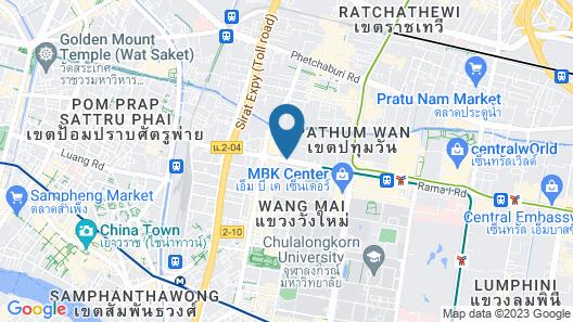 Siam@Siam Design Hotel Bangkok Map