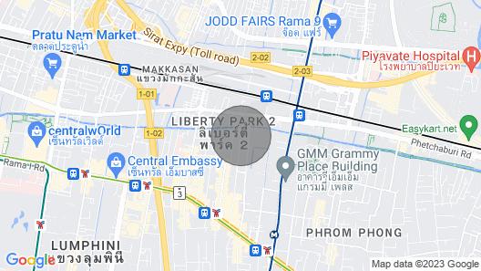 Luxury 1 Bedroom Condo @ Heart of Bangkok-24 Hour Check-in Map