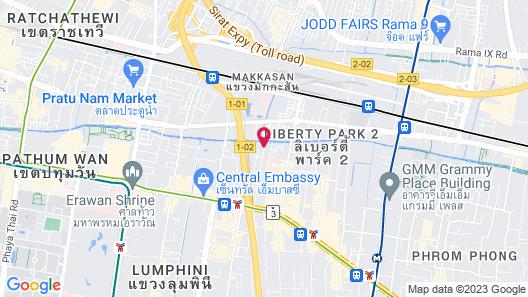 Ariyasomvilla Map