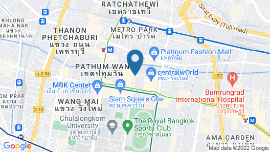 Siam Kempinski Hotel Bangkok Map