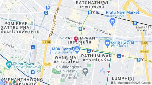 LiT BANGKOK Hotel Map
